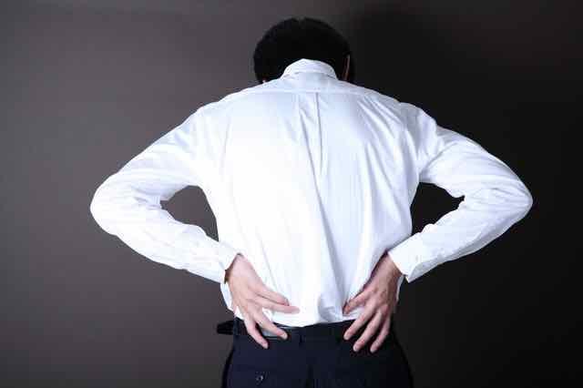 腰痛と梅雨