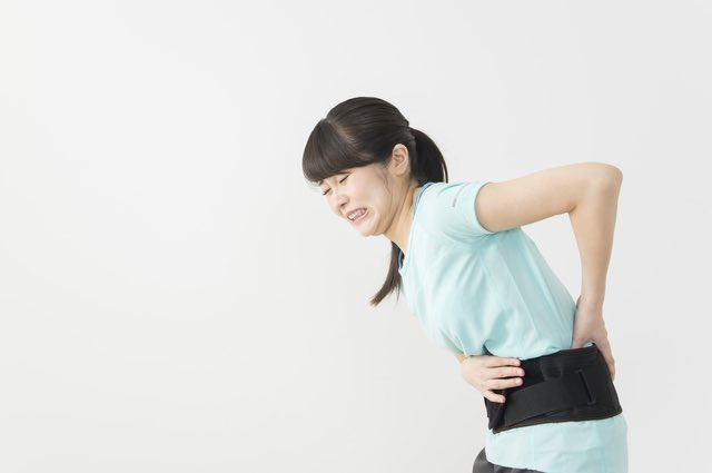 腰から足にかけての痛み